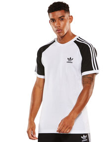 Mens 3-Stripe Tee