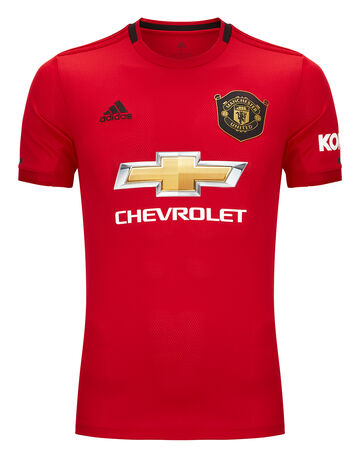 Adult Man Utd Home 19/20 Jersey