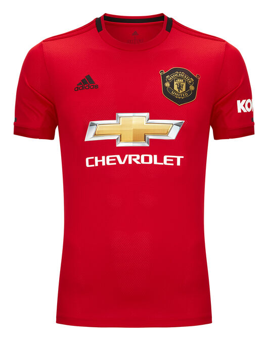 new styles 2be9e 3a6b4 adidas Adult Man Utd Home 19/20 Jersey
