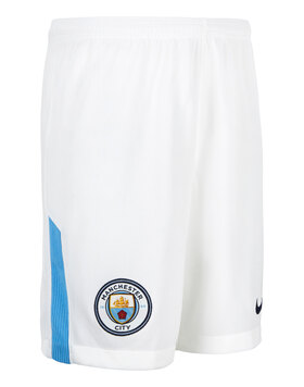 Kids Man City 17/18 Home Shorts