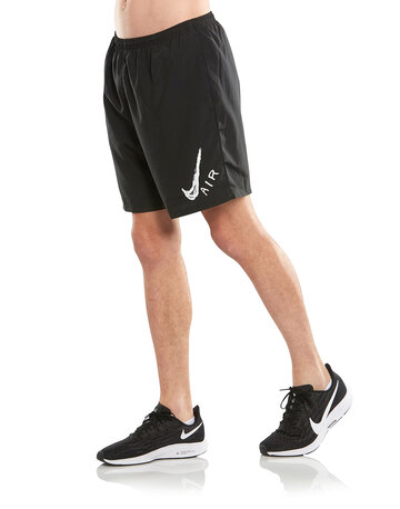 Mens Run Graphic 7 Inch Shorts