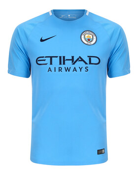 Adult Man City 17/18 Home Jersey