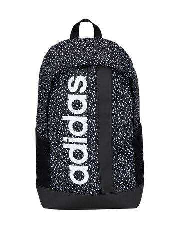 Linear Heart Print Backpack