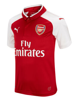 Kids Arsenal 2017/18 Home SS Jersey