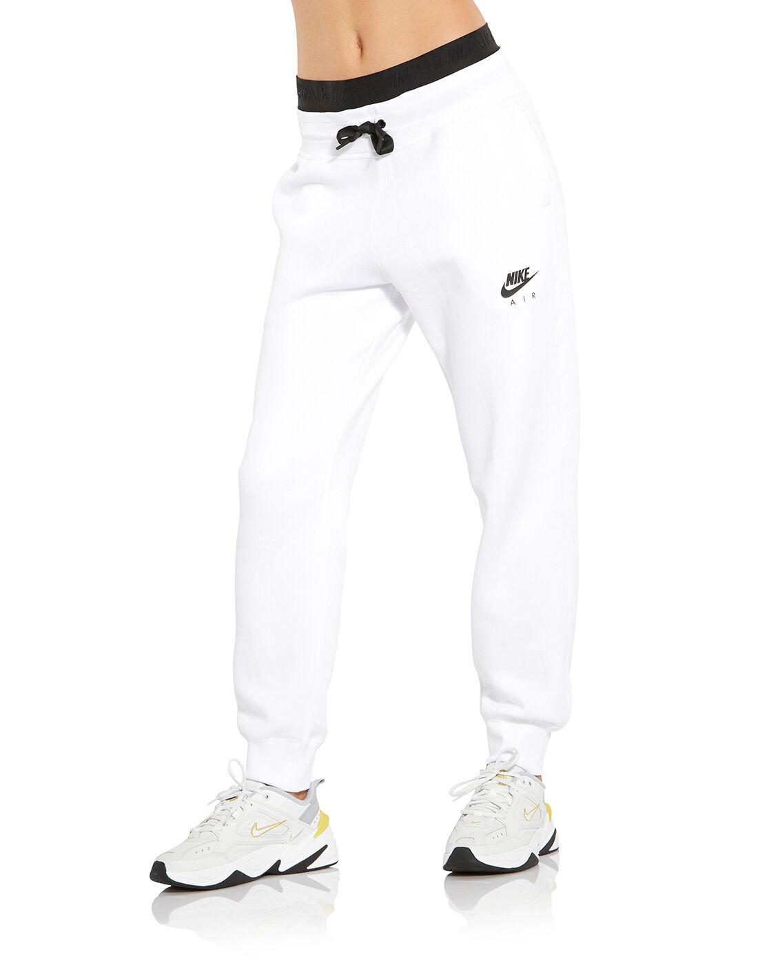 Women's White Nike Air Fleece Pants