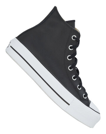 Womens Chuck Taylor All Star Lift Leather Hi
