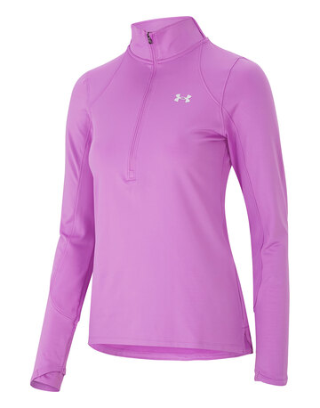 Womens Armour Graphic Half Zip