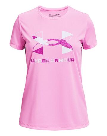 Older Girls Tech Graphic Big Logo T-Shirt