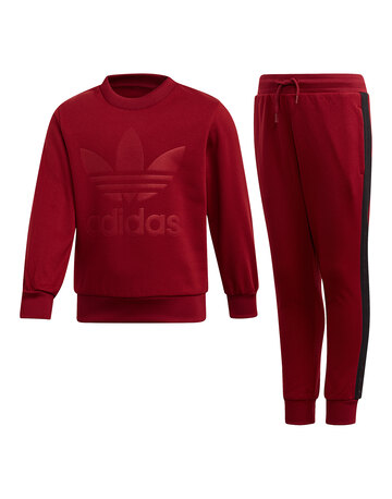Younger Boys Pullover Taping Tracksuit