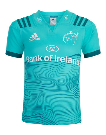 fc3a0af1745a Kids 2018 Munster Alternate Jersey front view ...