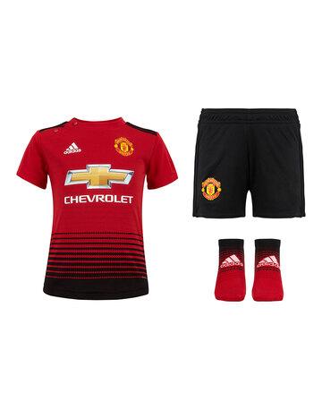 Infants Man Utd 18 19 Home Kit ... 0ff1b065f