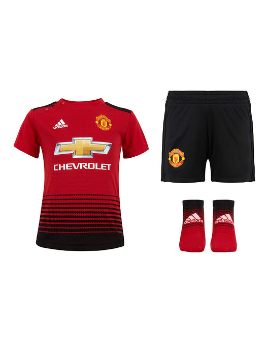 413e46ddecb Infants Man Utd 18/19 Home Kit
