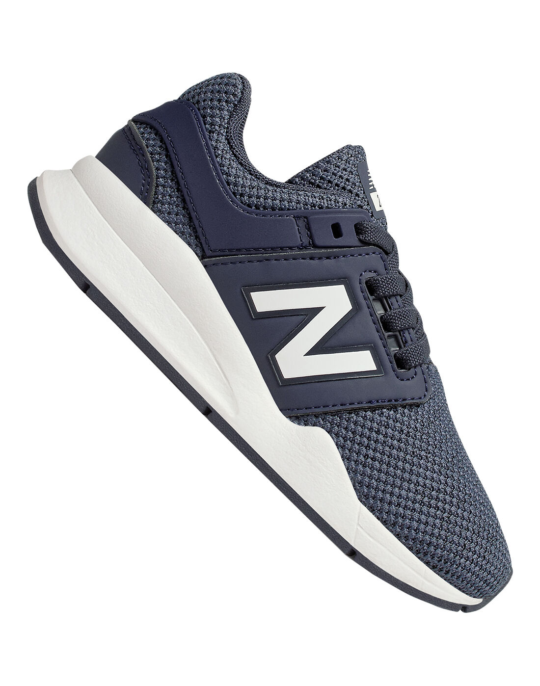 Young Kid's Navy New Balance 247 Trainers | Life Style Sports