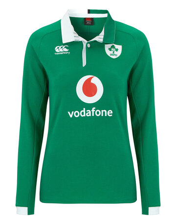 Ladies Ireland Home LS Classic Jersey