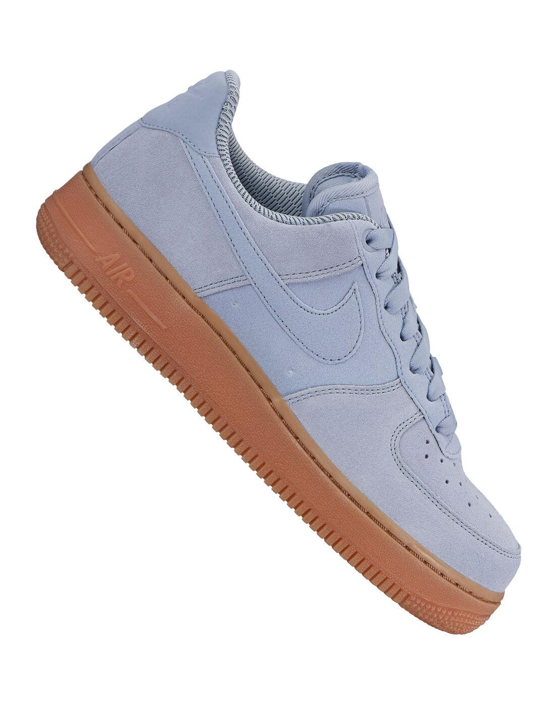 Nike Womens Air Force 1 07 SE - Blue