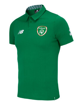 Adult Ireland Media Poly Polo