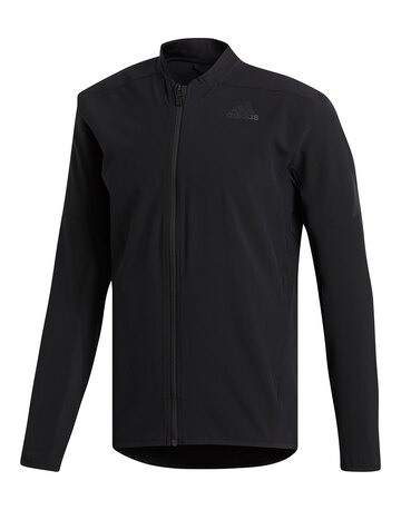 Mens AeroReady 3 Stripe Full Zip Top