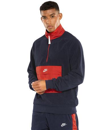 Mens Winter Fleece Half Zip
