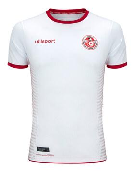 Mens Tunisia Home WC18 Jersey