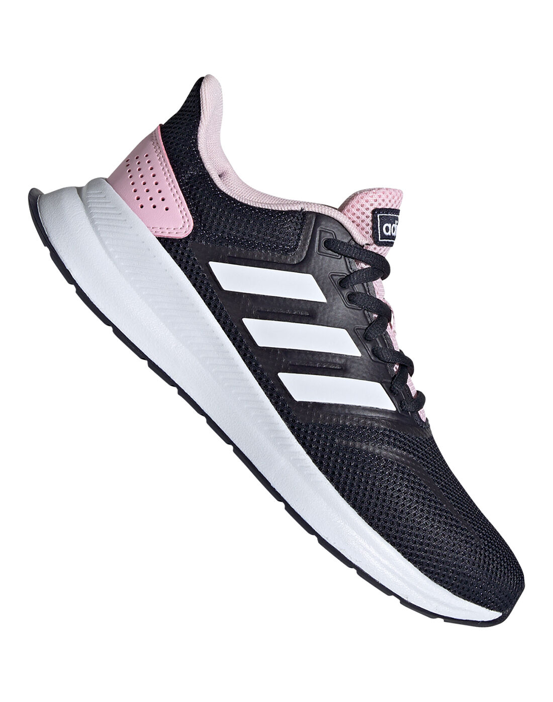 Women's Navy \u0026 Pink adidas Run Falcon