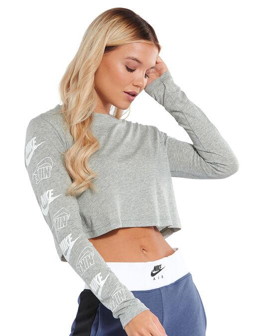 Womens Futura Long Sleeve T-Shirt