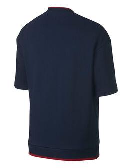 Mens Crew SS Fleece T-Shirt