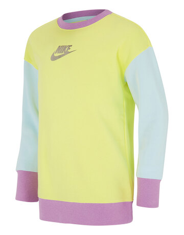 Older Girls BF Crewneck Sweatshirt