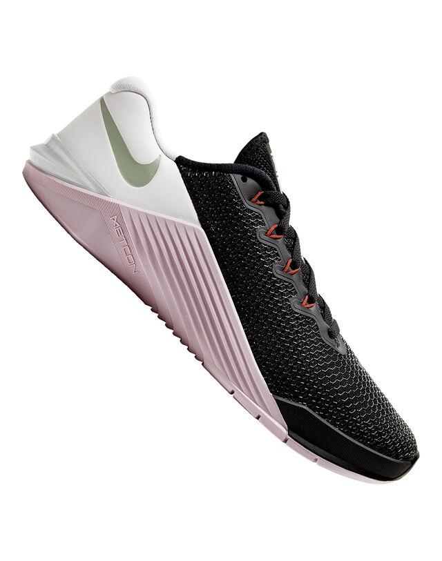 Nike Womens Metcon 5 - Black - 8