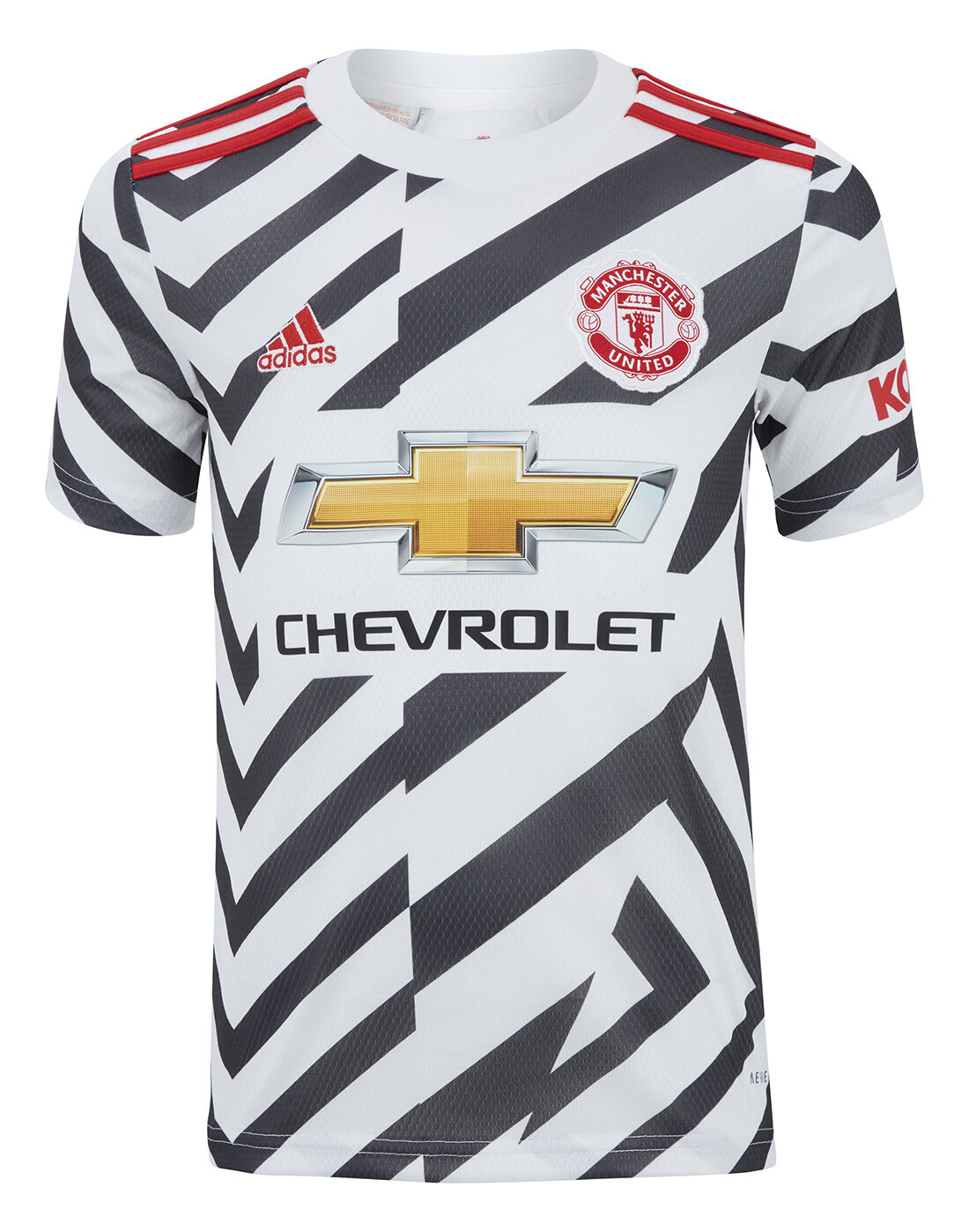 adidas adidas hamburg black mono gum in mouth and back   Kids Man Utd 20/21 Third Jersey