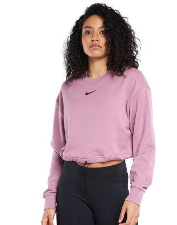 Womens Swoosh Crewneck Sweatshirt
