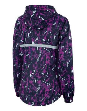 Womens Printed Running Jacket