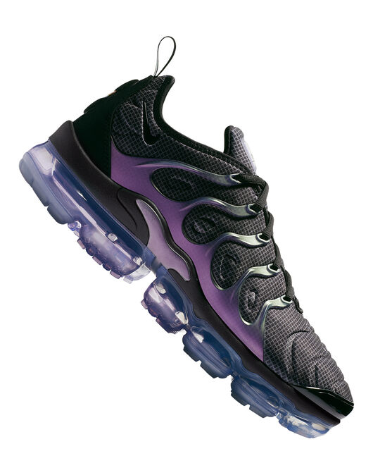 c3db1cd01c0ac Men s Black   Purple Nike Vapormax Plus