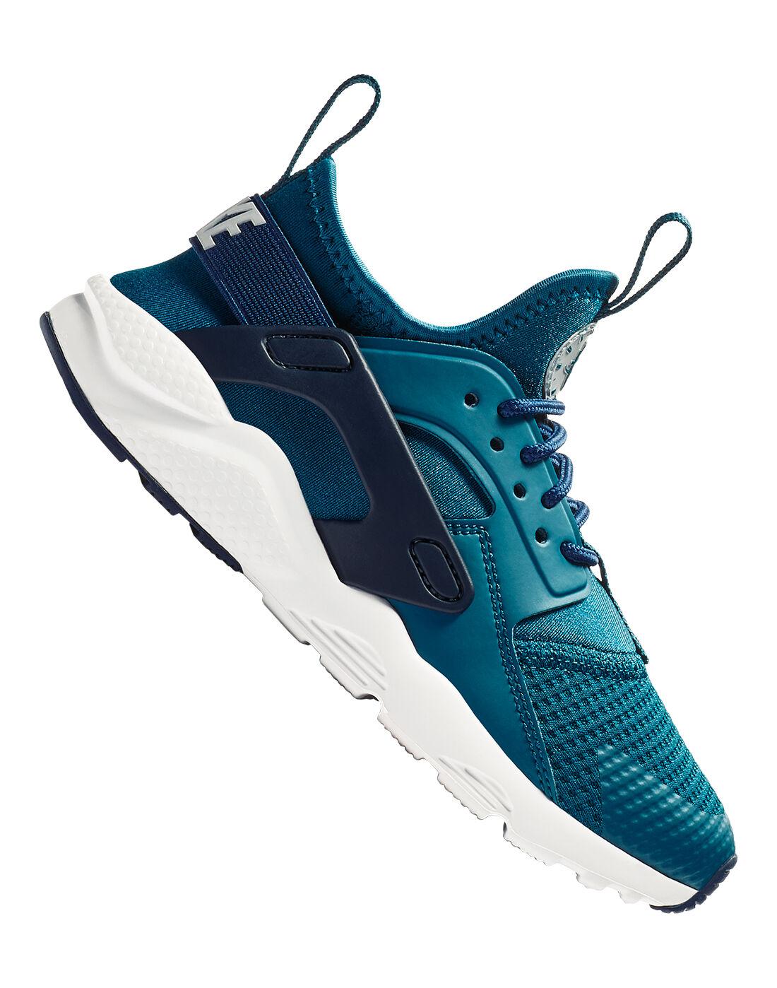 Young Boy's Blue Nike Huarache Run | Life Style Sports