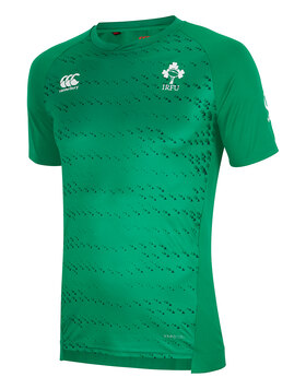 Adult Ireland Poly Tee 2018/19