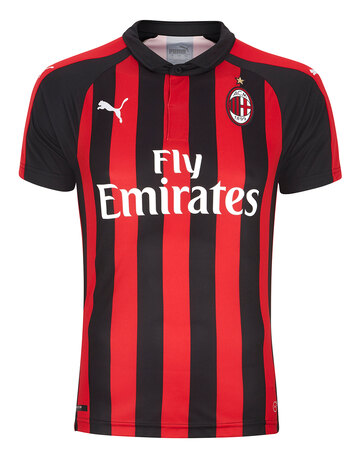 Adult AC Milan 18/19 Home Jersey