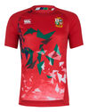 Adults British And Irish Lions Superlight Graphic T-Shirt 2020/21