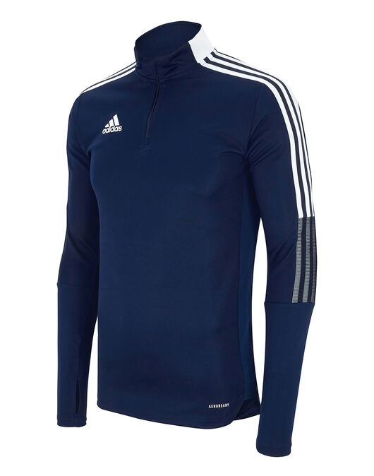 Mens Tiro 21 Training Half Zip Top