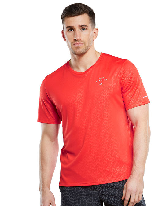 Mens Run Division Miler T-shirt