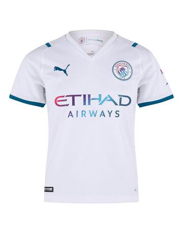 Kids Manchester City 21/22 Away Jersey