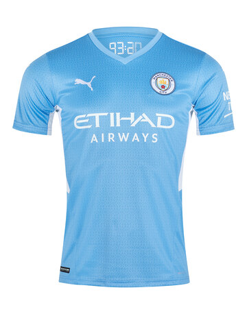 Adult Manchester City 21/22 Home Jersey