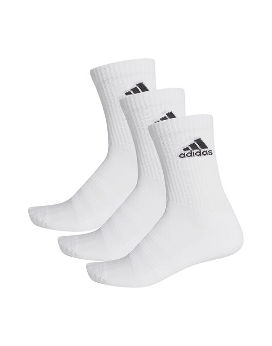 Adult 3 Pack Cushion Crew Socks