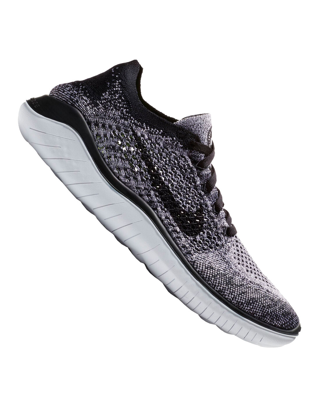 Women's Nike Free Run Flyknit | Black