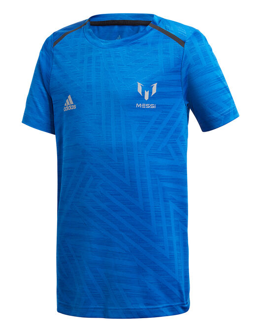 Escudero lucha temblor  Boy's adidas Messi T-Shirt | Blue | Life Style Sports