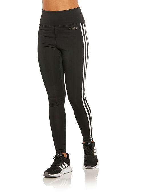 dddfa16385afd0 Women's Black adidas 3-Stripe Tights | Life Style Sports