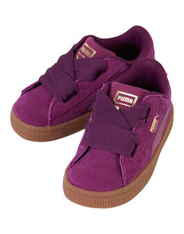 Infant Girls Suede Heart