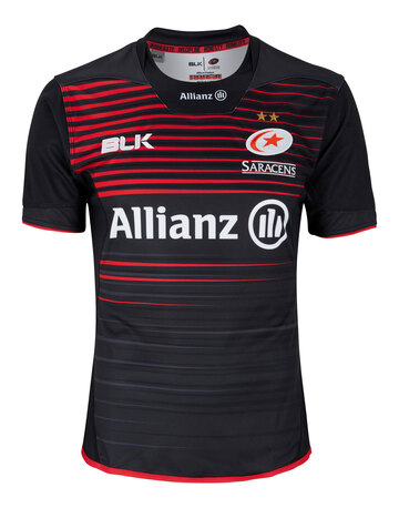 Adult Saracens Home Jersey 17/18