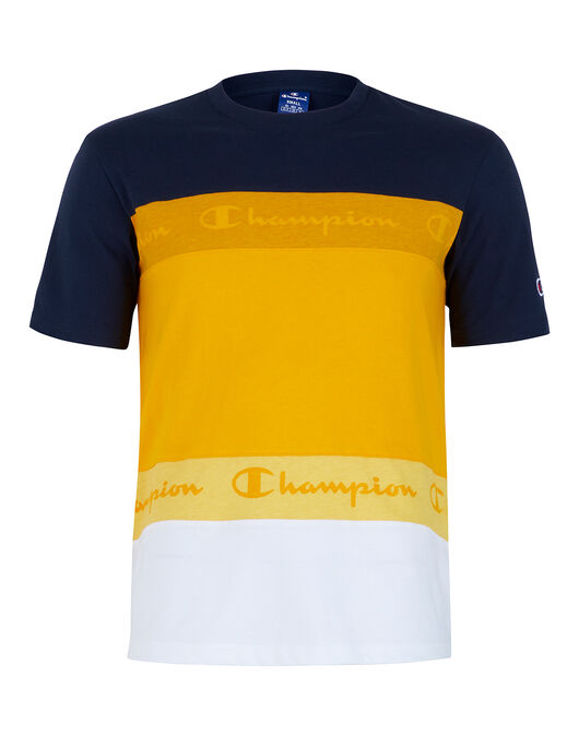 Mens Rochester Colour Sport Taping T-Shirt