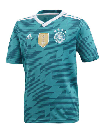Adult Germany WC18 Away Jersey