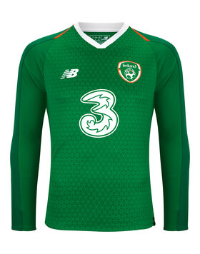 Adult Ireland Home Jersey LS
