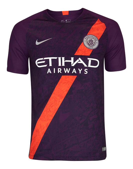 56d3217d946 Nike. Adult Man City 18 19 Third Jersey